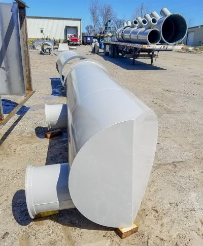 Dust Collection Pipe