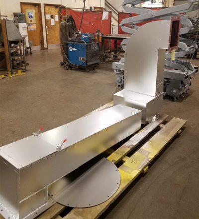 Custom Fabricated Machine Hood