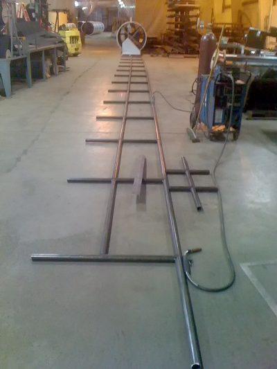 Handrail in Process