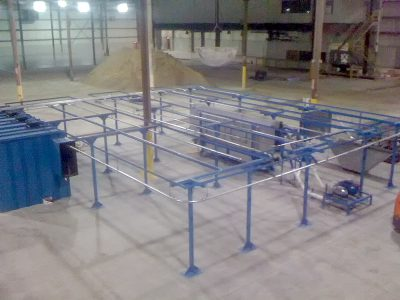 Overhead Conveyor with Rinse & Drying