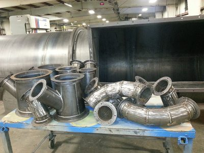 Custom Fabricated Ducting and Fittings
