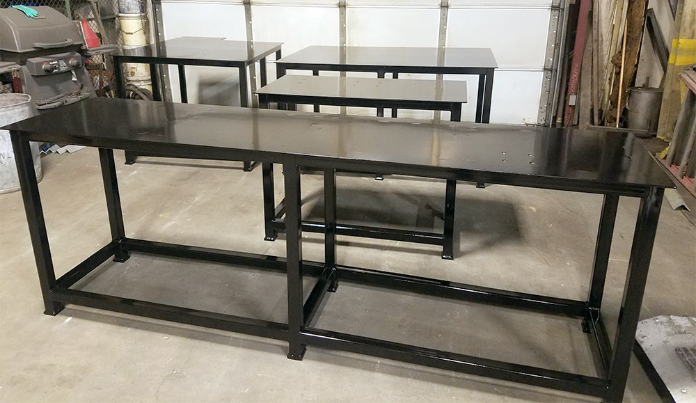 Custom Work Benches