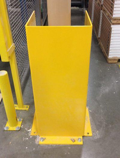 Custom Fabricated Post Guard