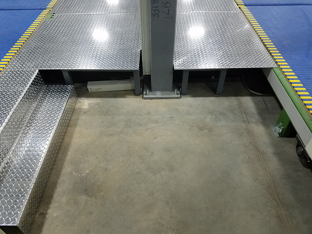 Diamond Plate Decking